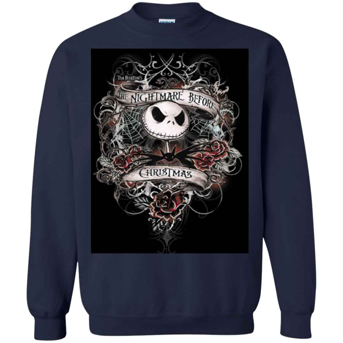 The Nightmare Before Christmas Hoodies Sweatshirts – TeeTrio