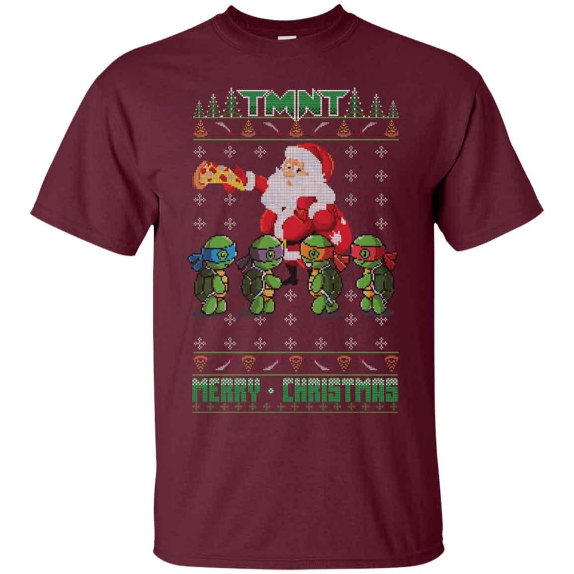 Teenage Mutant Ninja Turtles Ugly Christmas Merry Christmas ...