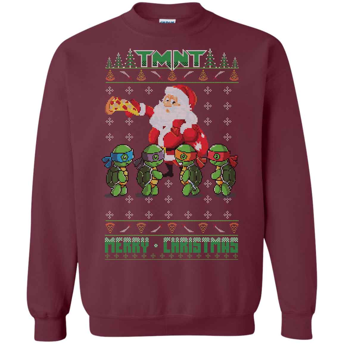 Teenage Mutant Ninja Turtles Ugly Christmas Merry Christmas ...